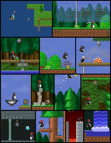 SuperTux A Linux Take on Super Mario Game
